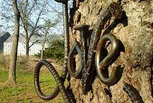 Metal Garden Art