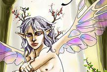 Anthology: Myths Untold: Faery / LGBT Fairy tales, Queer Fantasy Fic, Anthology - August Li, Brandon Witt, Skye Hegyes, J Scott Coatsworth