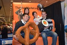 International Restaurant & Foodservice Show NY 2014 / We attended The International Restaurant & Foodservice Show of New York – also known as the NY Restaurant Show on March 2-4. We had our main booth #1125 and a photo booth set up with our #bigchair