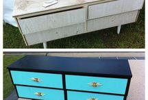 Retro Furniture Makeover