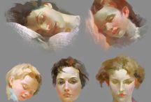 Pittura olio tutorial