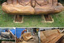 деревянные работы