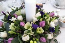 Table posies & decorations