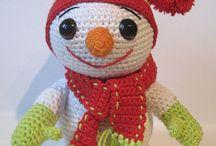 Crochet dolls, puppets, (amigurumi) etc