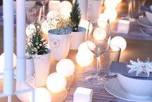 Soirées d'été, décoration de table