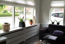 Tv meubel vensterbank