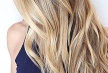 Blonde Haare Lange