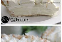 Coconut cream pie.