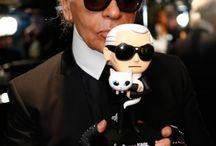 Karl Lagerfeld / by Chantal Dam