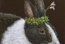 Peintre (Vicki Sawyer) / Animalier fleuri