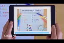Seesaw app / Digital portfolios