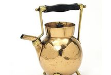 Kettles in Copper and Brass