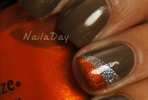 Brown Nails - Uñas marrones / Color marron, brown, uñas color marron, brown nails, uñas decoradas marron, chocolate, canela