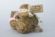 Rope and twine / Natural jute twine rope is available in 25m balls or per metre. Very popular choice for wrapping or decorating special gifts at functions or flowers bouquets. To purchase this product contact us at myinspiredplace@gmail.com