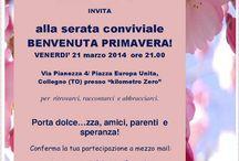 BENVENUTA PRIMAVERA!  / Serata conviviale 21 marzo 2014 http://www.fabriziocatalano.it/21-marzo-benvenuta-primavera/