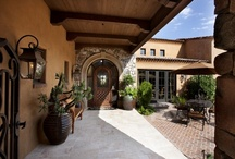 Tuscan Home Front Courtyards / by Becky Boberg