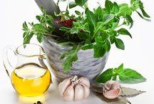 Herbal oils.