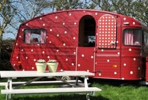 RV/trailer/caravan living&playing / by Sharon