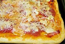 Receptek-pizza