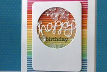 Craft ideas - Shaker cards