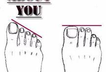 Feet reading
