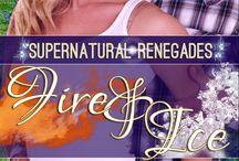 Supernatural Renegades Series / #militaryromance #paranormalromance