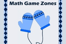 Math Game Zones and Workshops / by Yvonne Crawford
