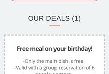 free food on birthday mtl