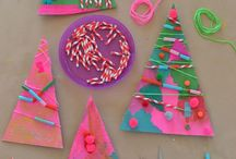 Christmas crafts / by Kelsea Hasty