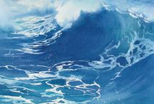 Watercolor Seascapes