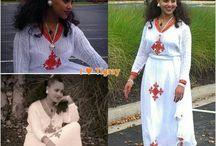 Habesha dress / Ethio & Eri traditional dress