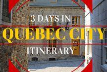 Canada - Quebec / Ideas for visiting Quebec