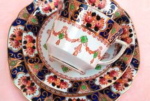 Victorian Tea! / English Victorian pieces with Imari patterns as the theme.