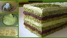 torte varie al pistacchio