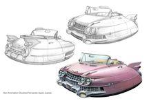car drawing