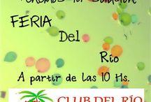 NUESTROS EVENTOS!!! / En este tablero subiremos los flyers de los eventos realizados en nuestro bar.  CLUB DEL RIO / Hostel Bar & Kayak
