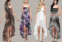 Sims 4 CC- Dresses and underwear