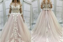 PINK dresses <3 / Pastel pink wedding dresses from my new catalogue. Enjoy!  I can sew them for you - just contact with me :)