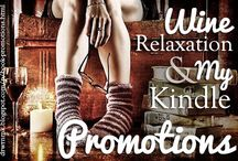 Tour Banners / I design some of the tour banners for Wine, Relaxation, and My Kindle Promotions (http://drwrnmk.blogspot.com/p/book-promotions.html). Melannie White is a wonderful person to work with, so definitely keep them in mind if you're considering a blog tour!
