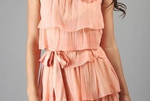 Ellie's Wedding / Pink bridesmaid dresses