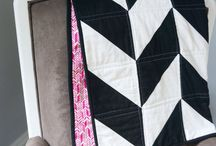 black and white  baby quilts