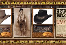 Billy The Kid Collection / Billy The Kid Collection from Tribal And Western Impressions -http://www.indianvillagemall.com/billythekidoutfit.html / by Tribal And Western Impressions