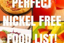 Nickel free foods