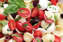 Tomaat pasta / Salade