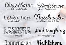 Font-Liebe...