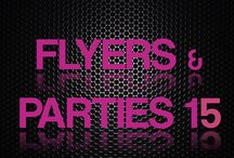 Flyers e Festas 2015