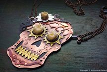 Anatomical Element Metalwork / Metalwork made by ME! Mostly anatomical, but other fun things thrown in as well!