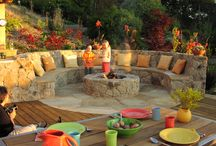 Outdoor entertaining and gardens / Inspirational landscaping and outdoor entertainment areas, bringing the indoors to outdoors.