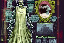 Horror movie cards