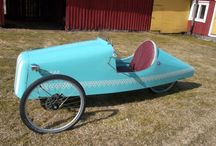 Old finnish velomobile model